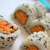 How to Make A Spicy Crab Sushi Roll via My Sushi Daddy