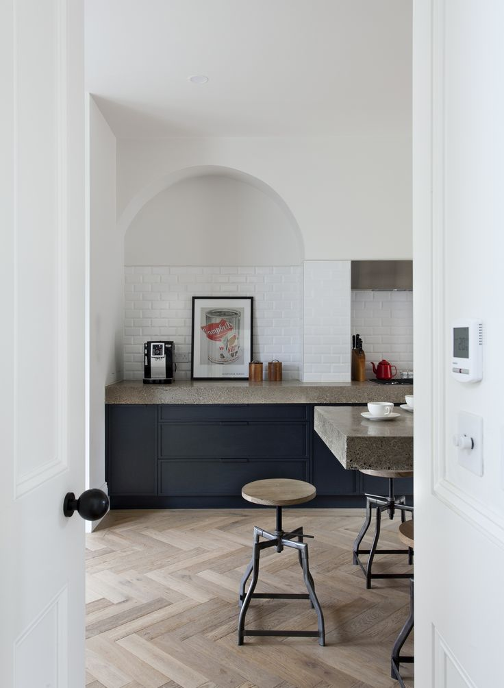 French Oak Herringbone, featured in Beautiful Irish Interiors Spring/Summer 2016.