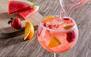 Enjoy a glass or two of the watermelon moscato sangria - Green apple sangria olive garden ...