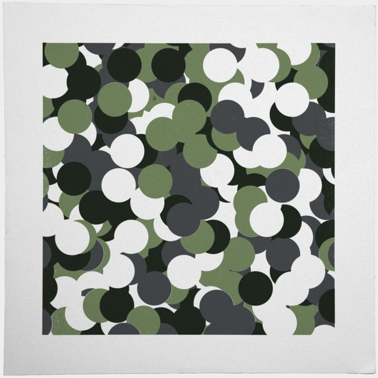 #430 Camouflage – A new minimal geometric composition each day