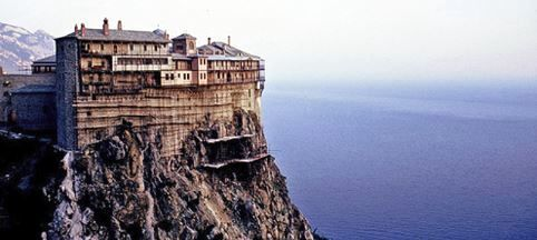 Monastery on the top