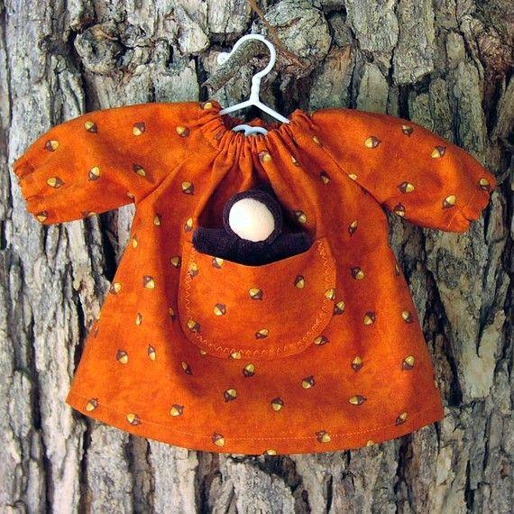 waldorf doll clothes 12 GermanDolls Acorn Fall by germandolls.