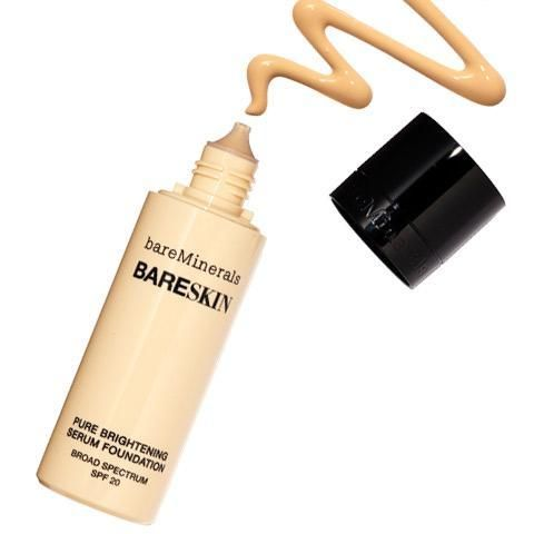 The 6 Beauty Products Jennifer Aniston Can't Live Without | InStyle.com Bare Minerals Bareskin Pure Brightening Serum Foundation
