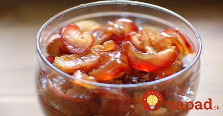 Suchý džem z jabĺk: Pripravený rýchlo, vydrží až do zimy!