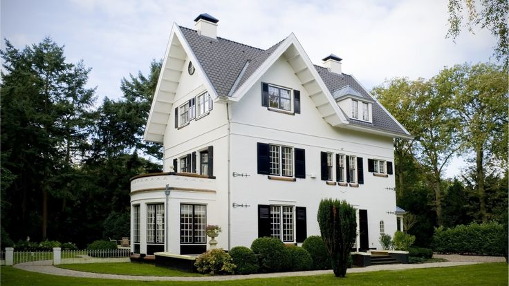 Villa Bussum   Zijgevel