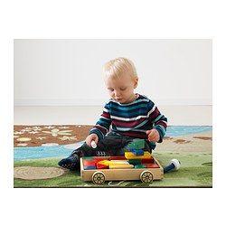 MULA 24 building blocks with wagon - IKEA
