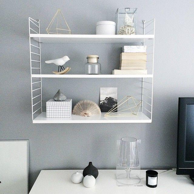 string shelf, stringhylla, string regal, pic by howlinsandra