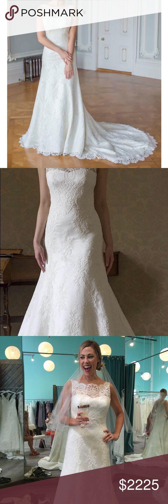 I just added this listing on Poshmark: NEVER WORN OR ALTERED Augusta Jones Wedding Gown. #shopmycloset #poshmark #fashion #shopping #style #forsale #Augusta Jones #Dresses & Skirts