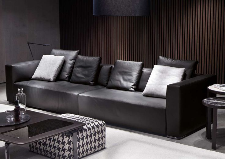 Black Minotti Sectional Collection ~ http://www.lookmyhomes.com/amazing-theme-of-minotti-sectional-collection/