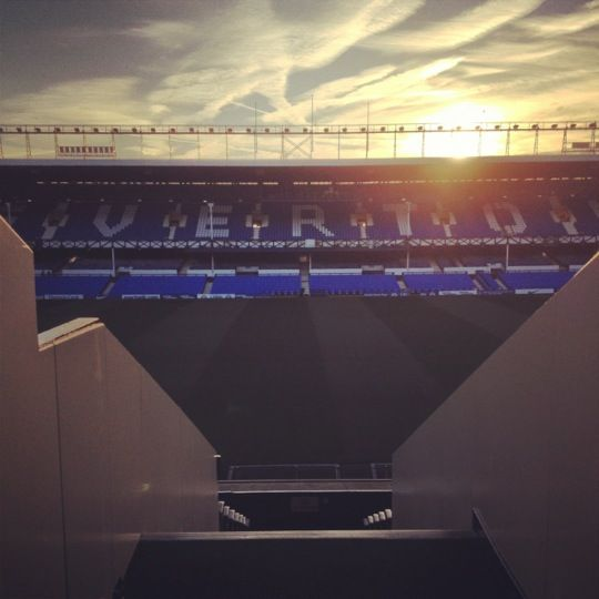 Goodison Park in Liverpool