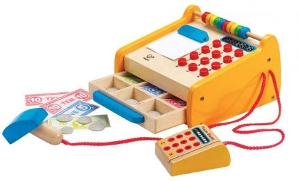 Checkout Register - The Wooden Toy Box Store