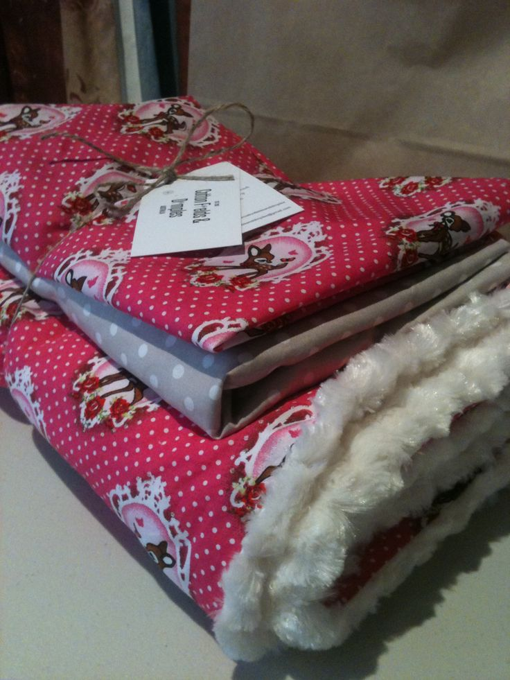 Retro deer custom. #nursery bedding #baby #girl #pink