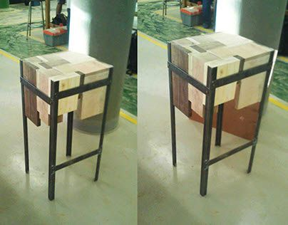 """Check out new work on my @Behance portfolio: """"MOAD Bar stool""""…"""