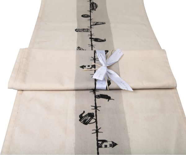 Karoo Table Runner. #SouthAfrican #cotton #decor #table