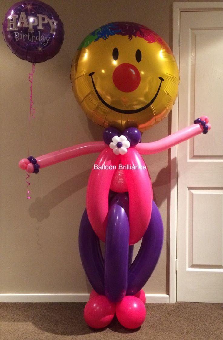"""Our most popular balloon delivery"" #balloonclown #sendballoonscanberra…"