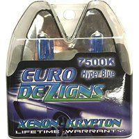 Cheap EuroDezigns H11b White/Blue Headlights - High Beam 7500k Xenon-Krypton HID…