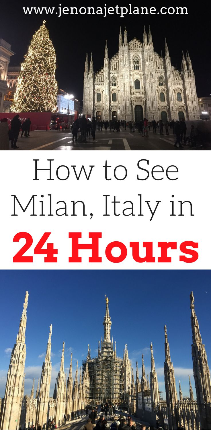 Do you only have 1 day in Milan to explore? No problem! Check out this one day Milan guide to help you figure out what to see in Milan, what foods to eat, where to stay in Milan and much more. Make sure you save these Milan travel tips to your travel board.