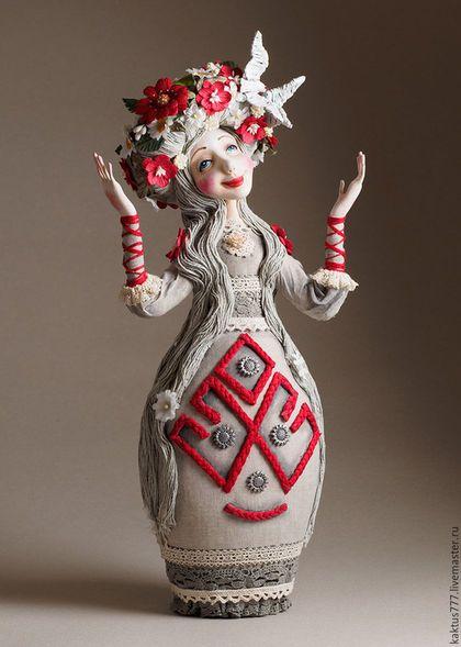 Folk art doll / Коллекционные куклы ручной работы. Ярмарка Мастеров - ручная работа. Купить ЛЕЛЯ. Handmade. Славянская мифология, леля, художественная кукла