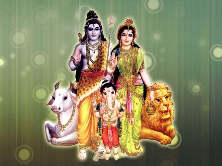 The love that is carried out by the relationship between Lord Vinayagar and his Parents, Lord Shiva and Mother Parvathi, is unquestionable that we should follow in His divide path! :)