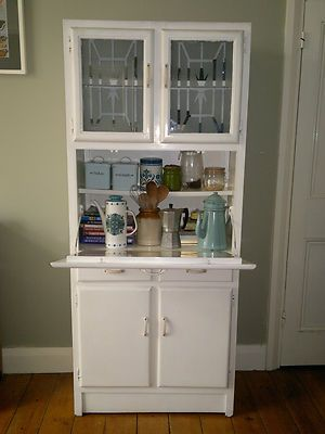 Cannot tell you how MUCH I want one of these one day...Vintage 1950s kitchen larder cupboard, dresser, cabinet storage unit