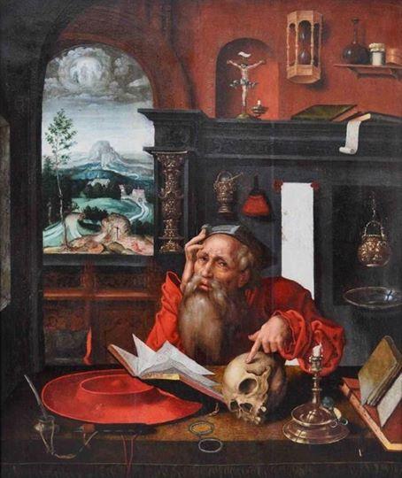 Joos Van Cleve 1485 1540  San Gerolamo
