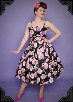 decades day ideas for girls | oh to walk around in 50s clothes all day, would feel like a starlet!