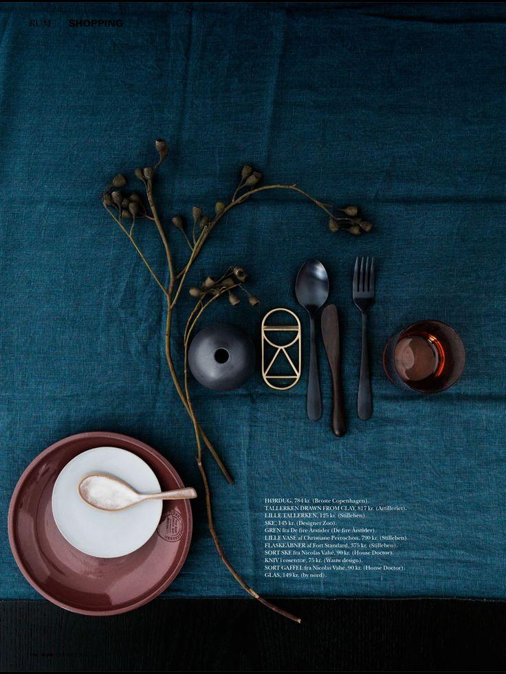 Palette. Danish Rum interior styling