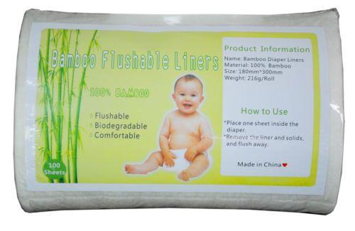 Alva-Biodegradable-Flushable-Diaper-Liner-100-sheet-In-One-Roll-for-Cloth-Diaper