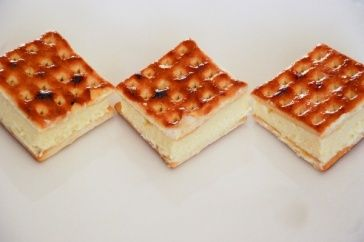 Lattice Biscuit Slice - Taste.com.au - NOTE: Recipe states 3 tablespoons of gelatine. Should be 3 teaspoons