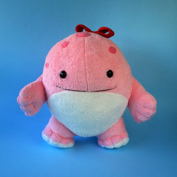 Quaggans are the most adorable characters in Guild Wars 2! >.< Here is the plush one which is extremely soft and squishy :) It is about 10 inches