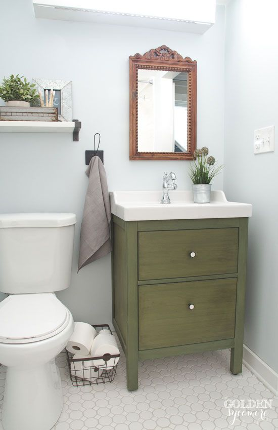 green bathroom cabinet blue white and green cottage bathroom 16044