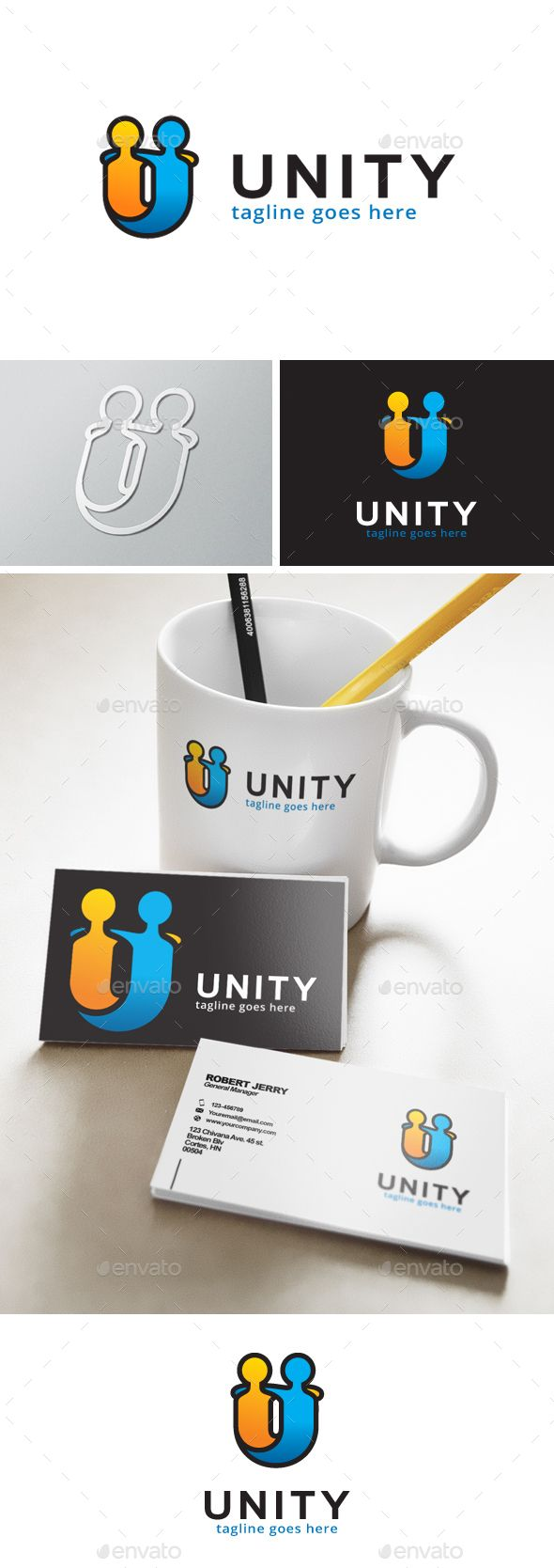Unity Logo — Transparent PNG #job #logo • Available here → https://graphicriver.net/item/unity-logo/13746759?ref=pxcr