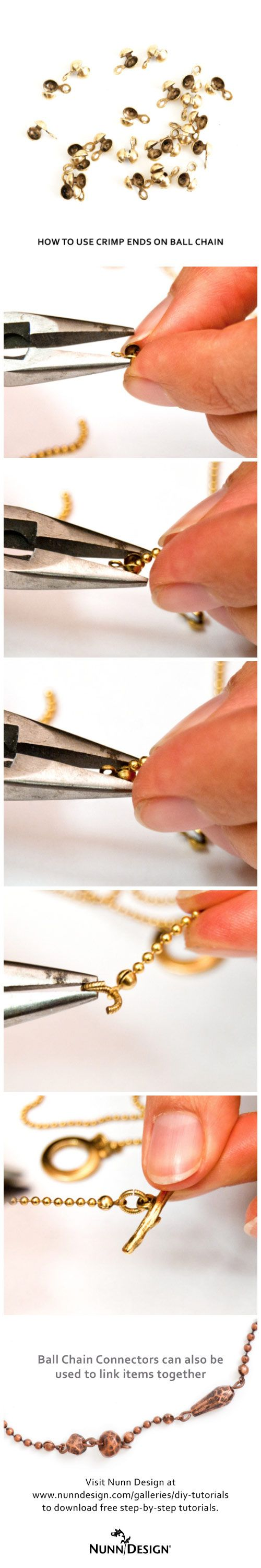 How to use a crimp connector.