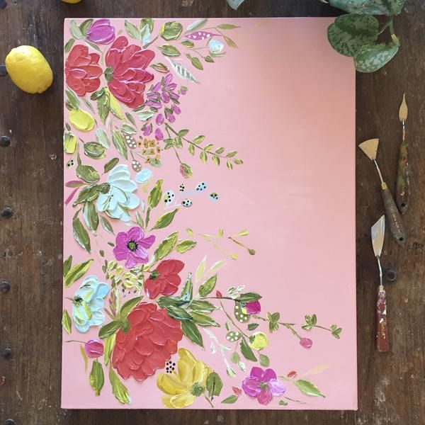 Best 25+ Flower painting canvas ideas on Pinterest | Acrylic ...
