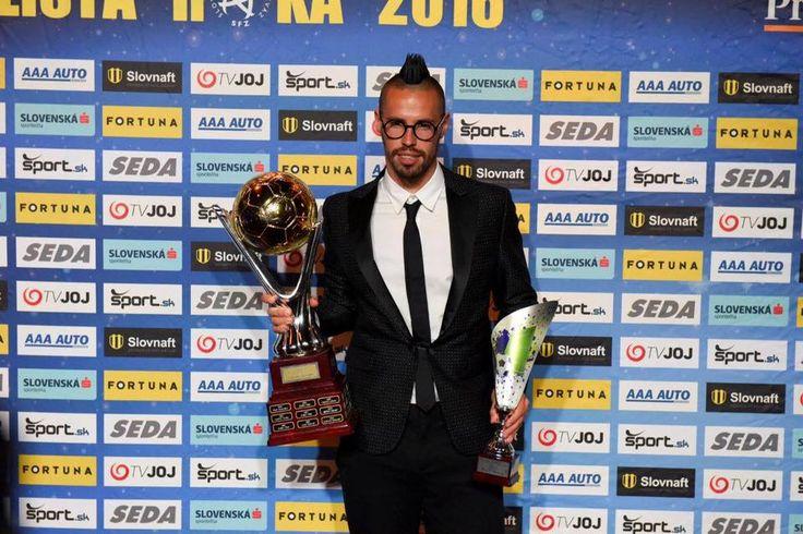 Marek Hamšík - futbalista roka 2016
