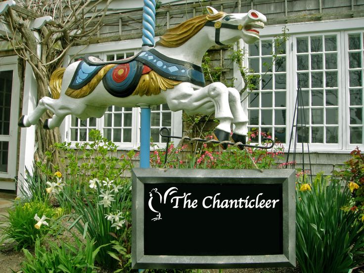 French Nantucket Restaurant Located in Sconset, The Chanticleer