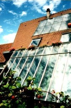 Les 53 meilleures images propos de amenagement de veranda sur pinterest c - Maison bioclimatique alsace ...