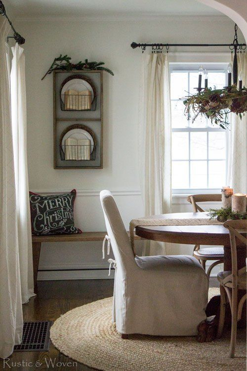 Fresh Farmhouse Simple Curtains And Rods