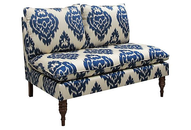 #OKL amazing furniture from The Art of Upholstery: Solid Pine, Living Rooms, Master Bedrooms, Colors Blue, Loveseats, Studios Couch, Daybeds,  Day Beds, Settees