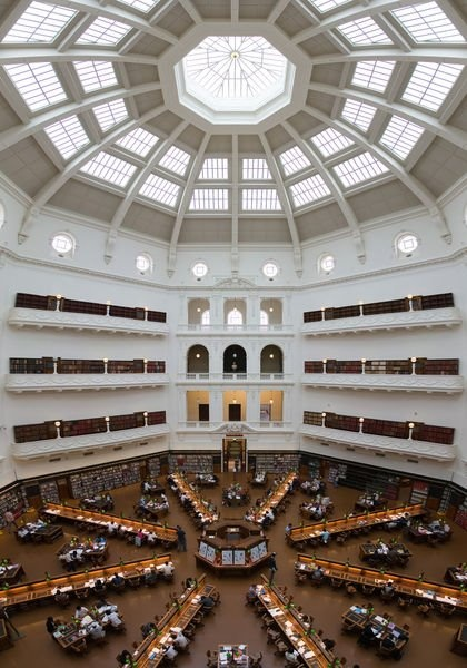 Things to do in Melbourne: State Library of Victoria, La Trobe Reading Room    328 Swanston Street  Melbourne VIC 3000  (03)8664 7000