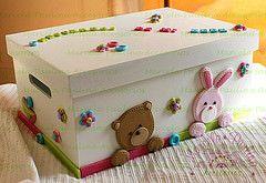 Caja porta recuerdos del bebe (Marcela Paulina.Accesorios) Tags: