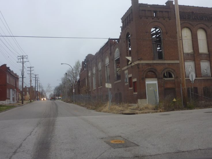 St Louis North Side One Of The Worst Slums In America