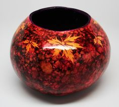 alcohol ink gourd - Google Search
