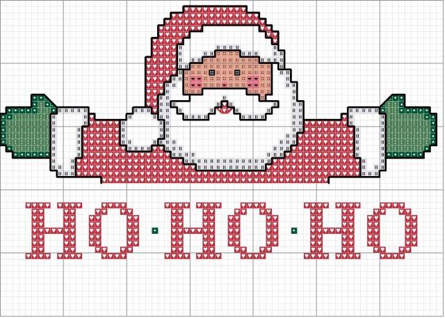 Ponto Cruz de Natal - Gráficos maiores ~ Arte De Fazer | Decoração e Artesanato                                                                                                                                                                                 Mais