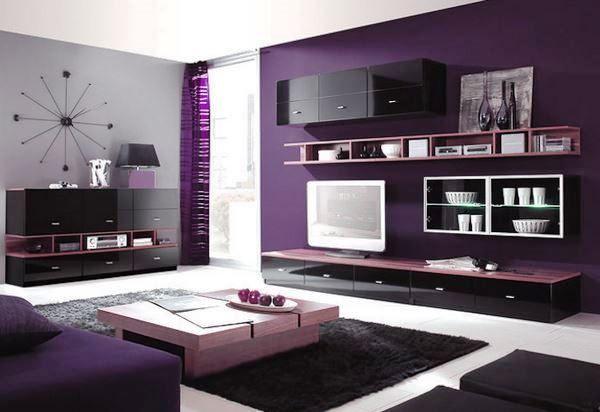 фиолетовые обои фото 4