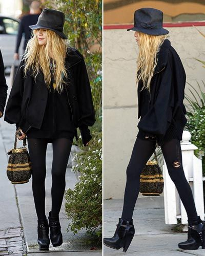 Mary Kate Olsen has a fashion gift from the lord.