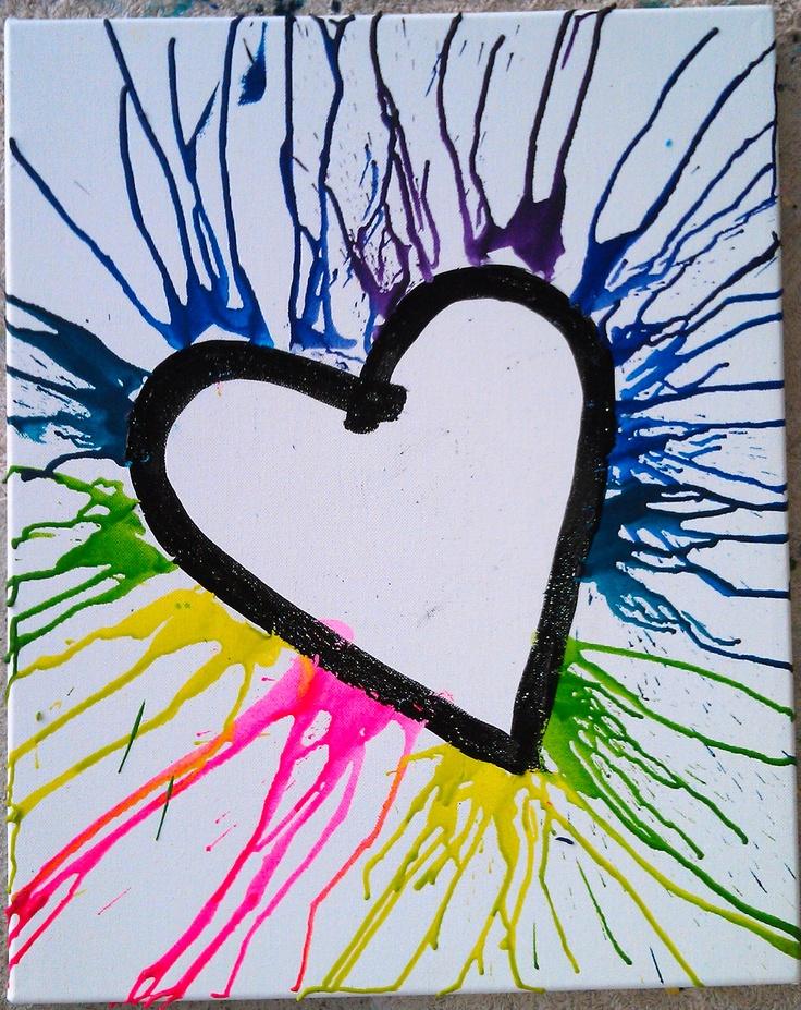 Crayon art: Crayons Creative, Crafty Things, Artsy Ideas, Crayons Art, Crafts Diy, Diy Stuff, Denium Projectscraft, Ideas Future, Crayon Art