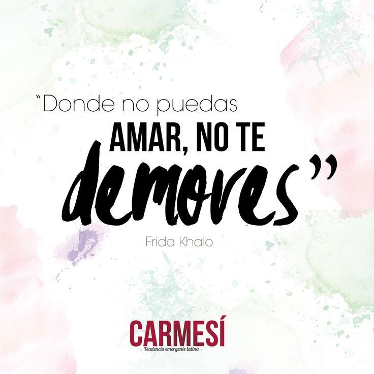 No te demores #BeCarmesí