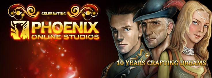 Phoenix Online Studios 10th Anniversary - TSL Facebook Cover