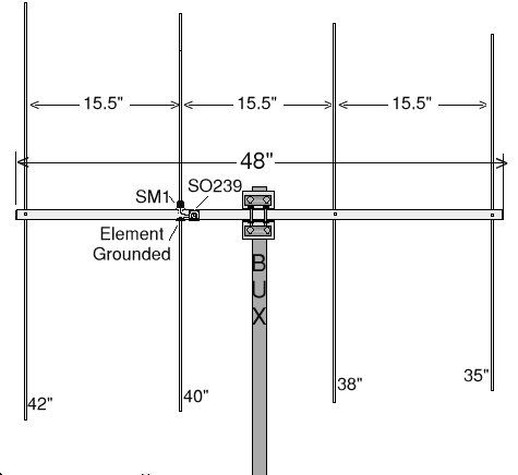 17 best images about ham antennas radios citizens ham antenna resources and informations two six meter beam construction